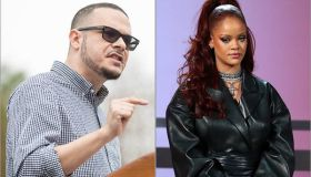 Shaun King and Rihanna
