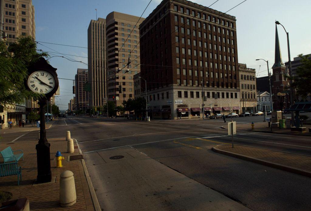 Struggling Economies In Ohio Cities Could Sway Votes, Dayton, Ohio