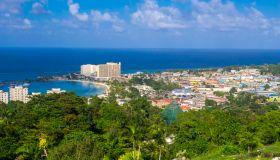 Coastal town, Ocho Rios, Jamaica