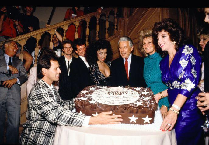 Joan Collins, John Forsyth,Linda Evans,Diahann Carroll