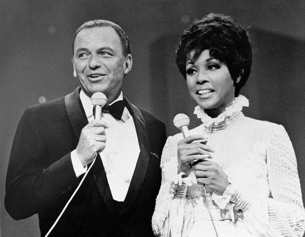 Frank Sinatra and Diahann Carroll