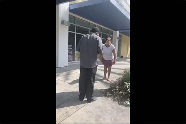 Deysha Adriana Facebook video of racist white woman