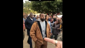 Kanye West at Howard Homecoming