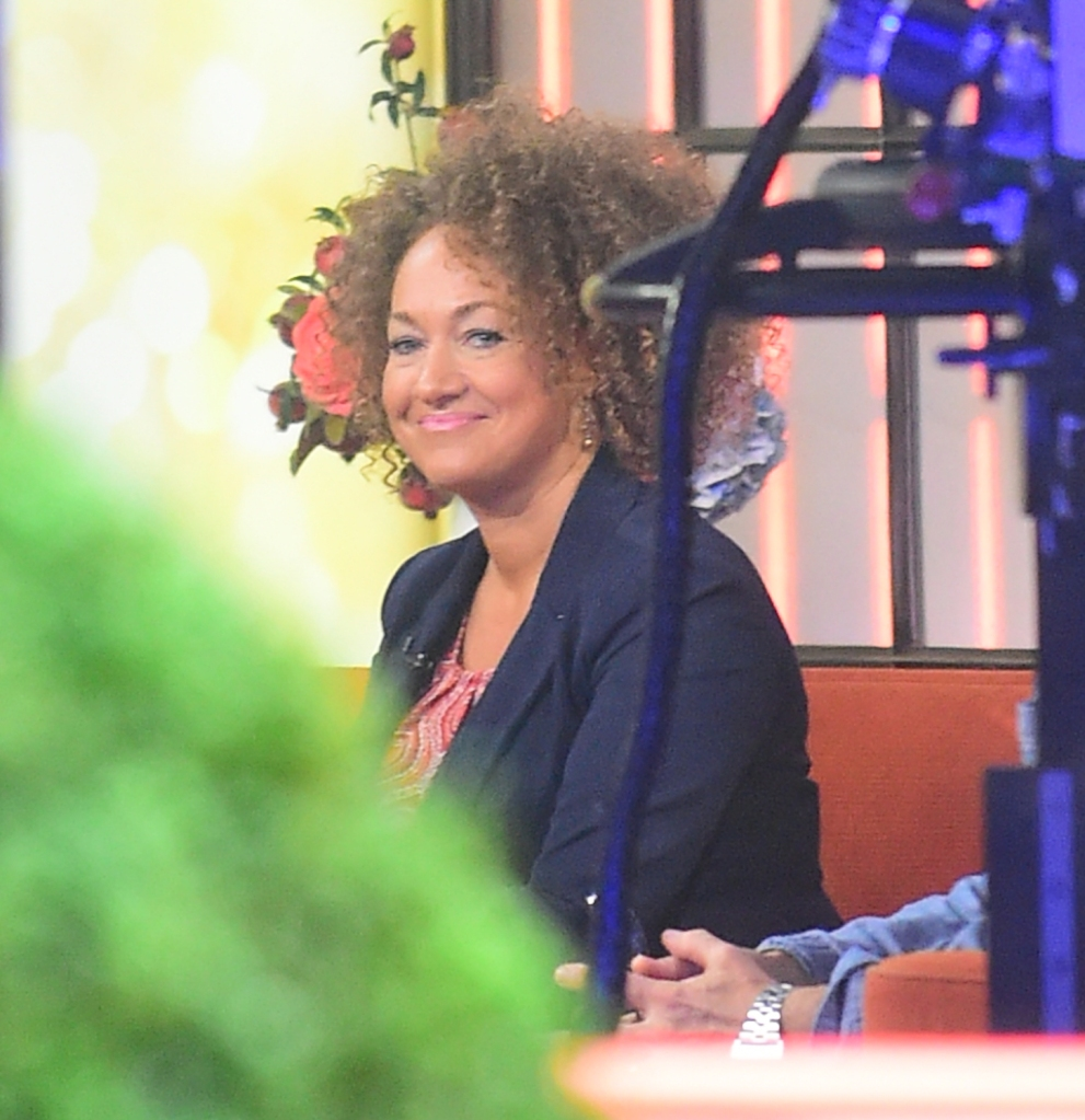 Rachel Dolezal sits down with Matt Lauer for an interview on the 'Today' show
