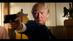 The Trumpsman (The Kingsman Parody) - video of computer-generated mass killing inside a church
