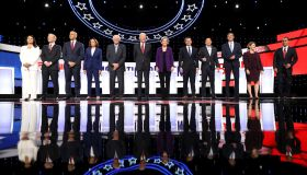 Democratic Presidential Candidates Participate In Fourth Debate In Ohio