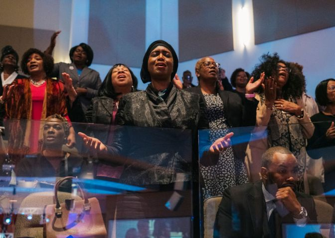 Mourners Attend Funeral Of Rep. Elijah Cummings In Baltimore