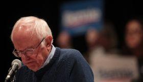 Democratic Presidential Candidate Bernie Sanders Campaigns In Iowa