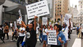 Black Women's March In Philadelphia