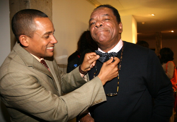 Hill Harper and John Witherspoon
