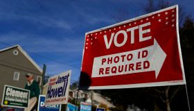 Voters Head To The Polls On Election Day