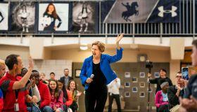 2020 Democratic Presidential candidate Senator Elizabeth Warren...