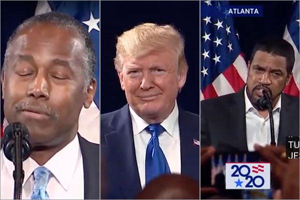 Black For Trump rally in Atlanta 11/8/19