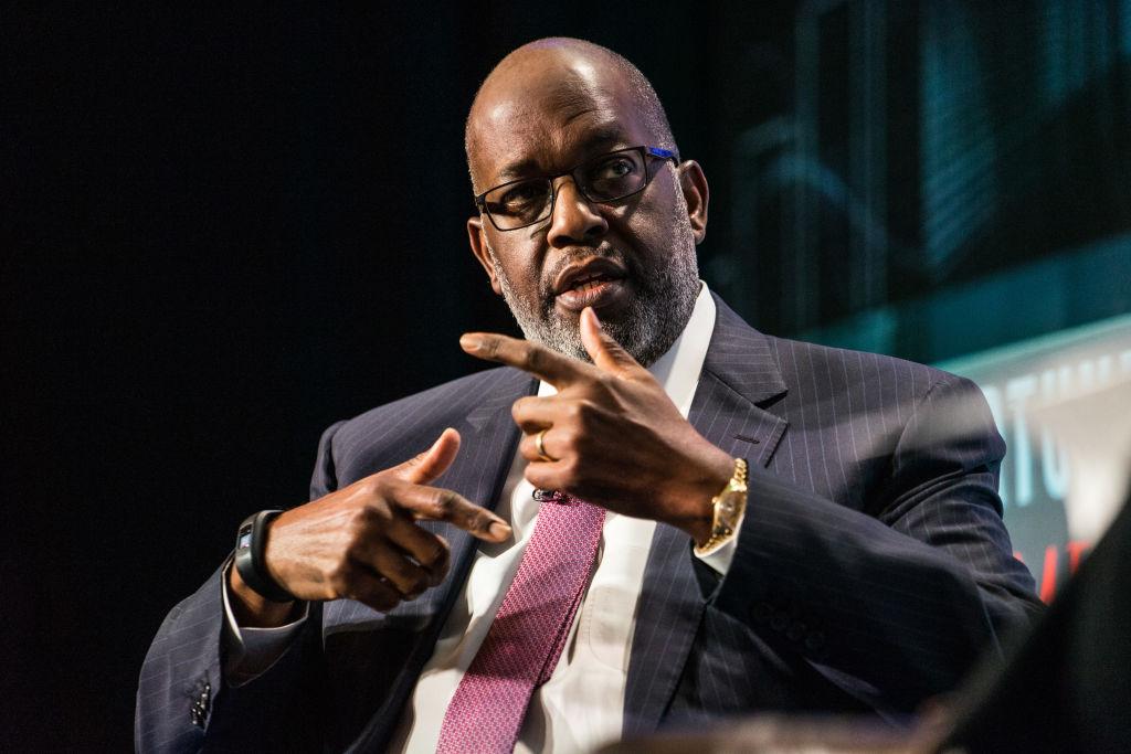 Bernard Tyson Speaks At CEO Initiative Event in New York