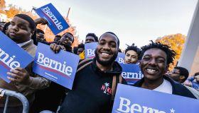 Bernie Sanders Morehouse College rally