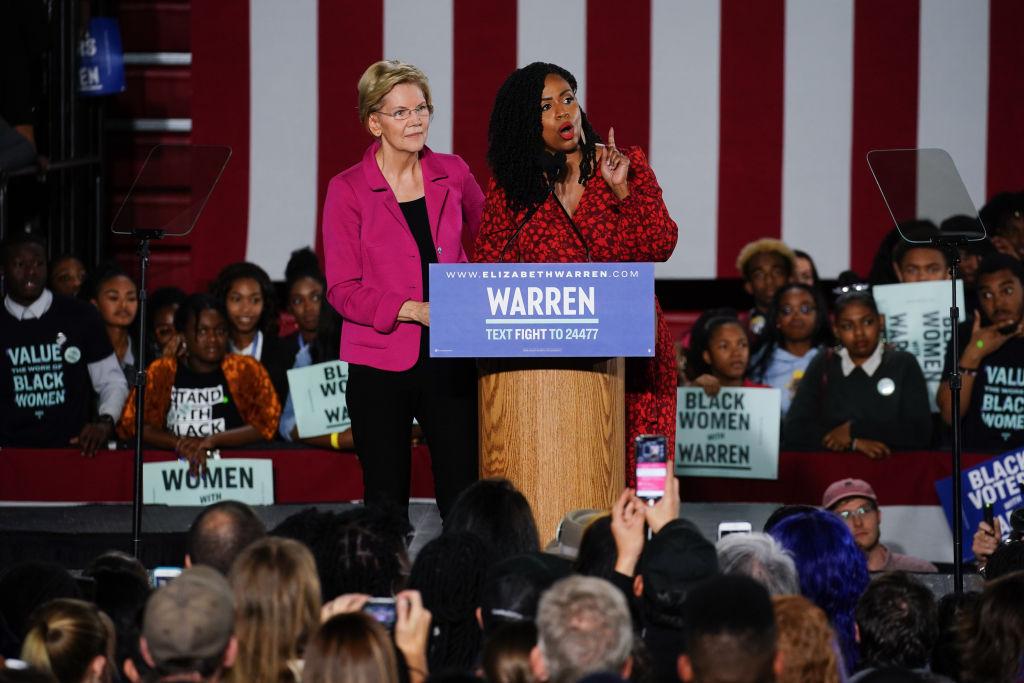 Democratic Presidential Candidate Elizabeth Warren Speaks At Clark Atlanta University