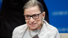 Supreme Court Justice Ruth Bader Ginsburg Delivers Remarks At Georgetown Law