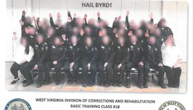 West Virginia Corrections Officers Nazi Salute