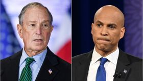 Michael Bloomberg and Cory Booker