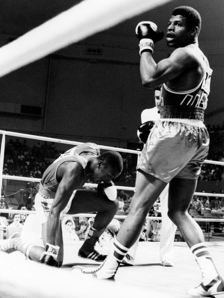 OLY 1976-BOXING-LIGHT HEAVYWEIGHT-SPINKS