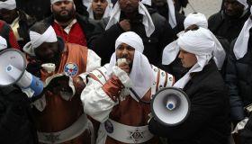 Black Hebrew Israelites Protest Outside U.S. Capitol