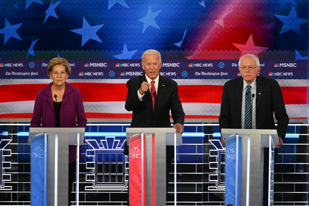 Democratic Pesidential Debate Hosted by The Washington Post and MSNBC