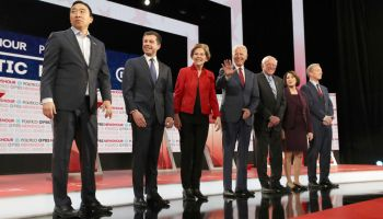 Democratic Presidential Candidates Participate In Last Debate Of 2019