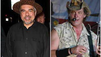 George Lopez and Ted Nugent