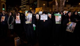 Mourning Of Iranian People In The Night Of General Soleimani's Burial