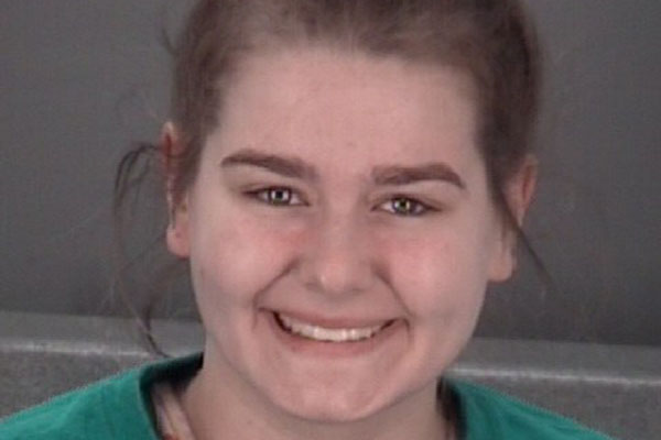 Serina Probus, arrested for hitting a man with her car and trying to pee on an officer