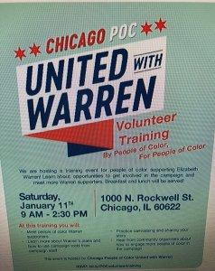 Elizabeth Warren Flyer