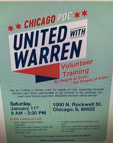 Elizabeth Warren Flyer