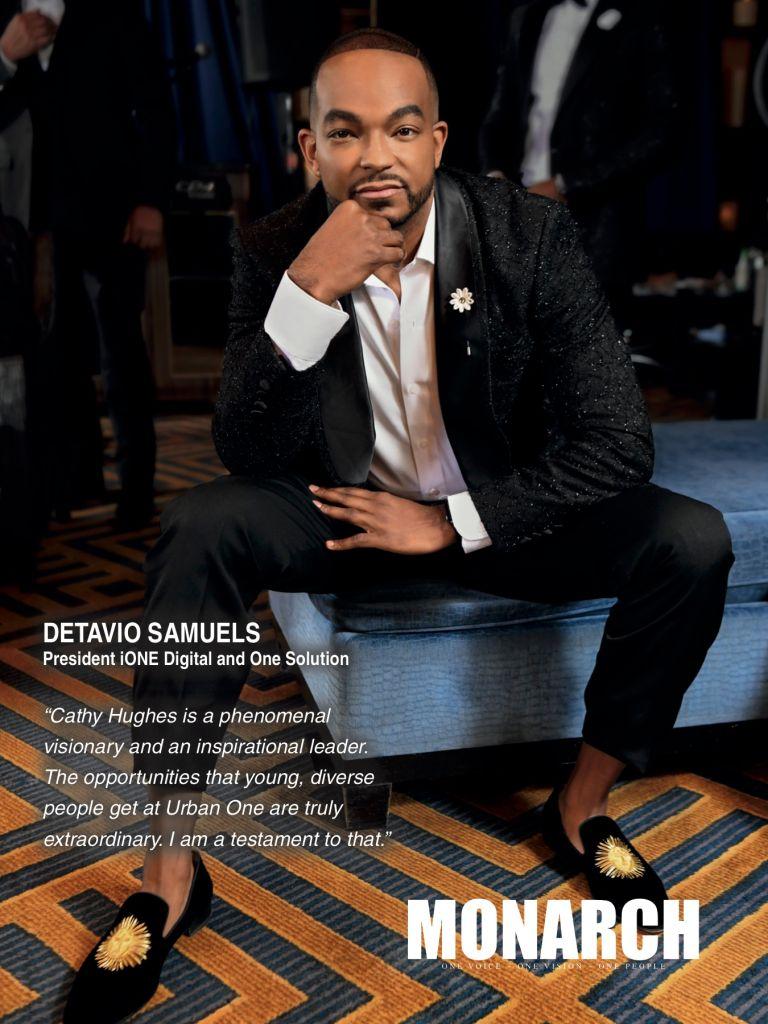 Detavio Samuels, MONARCH magazine