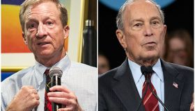 Tom Steyer and Michael Bloomberg