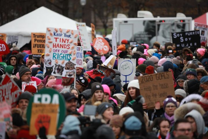 Women's March 2020 in Washington