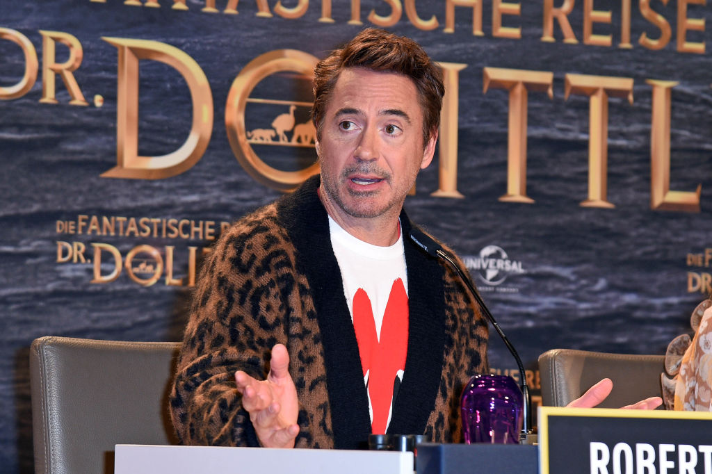 """Die Fantastische Reise Des Dr. Dolittle"" Press Conference In Berlin"