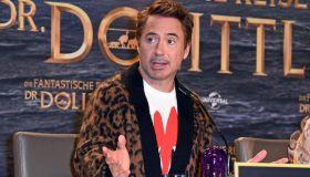 """Die Fantastische Reise Des Dr. Dolittle"" Press Conference In Berlin"