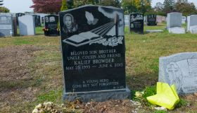 Kalief Browder's grave