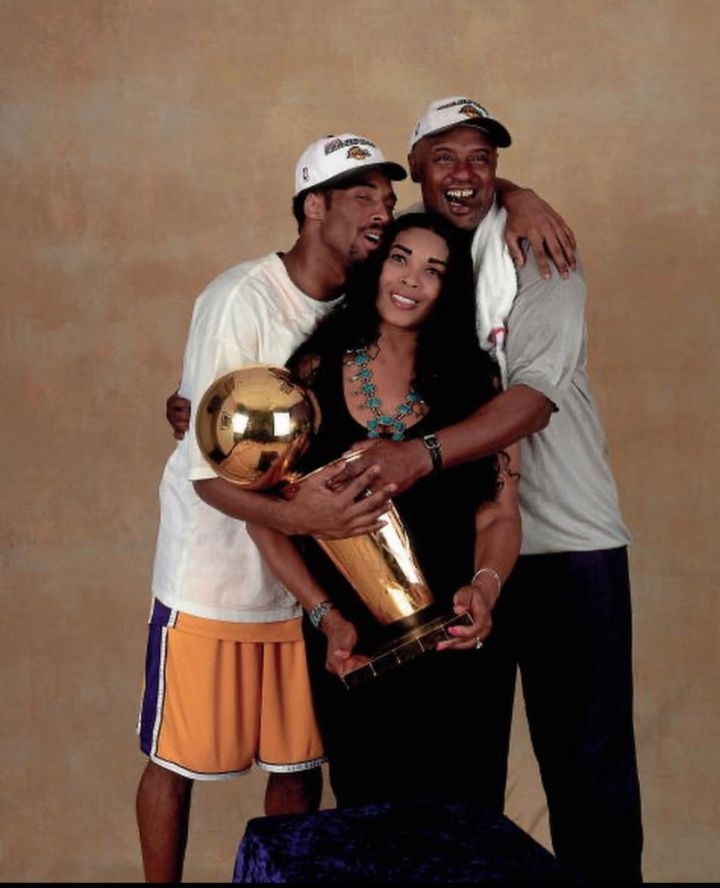 "Kobe, Pam & Joe ""Jellybean"" Bryant"