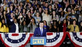 Pete Buttigieg Holds Watch Party Event On Night Of Iowa Caucus