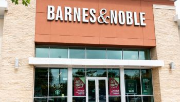 Barnes & Noble store in Princeton, New Jersey...