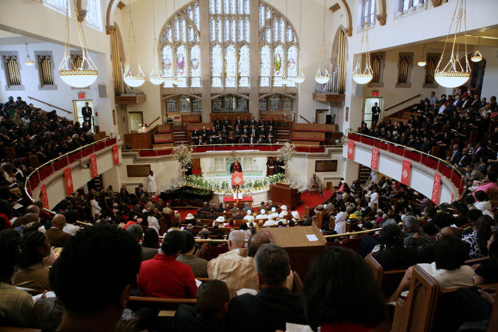 Easter Sunday Mass with Reverend Dr. Calvin O. Butts III at