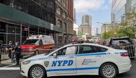 New York - Ground Zero - Police