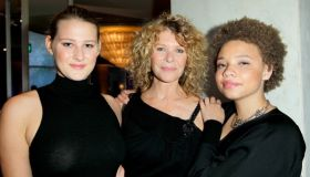 Mikaela Spielberg, with her mother and sister.