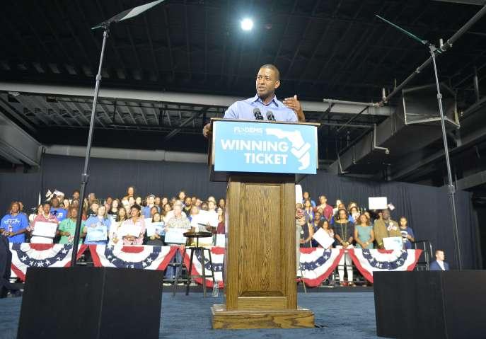 President Barack Obama, Senator Bill Nelson, Andrew Gillum, Florida Democratic Party's Winning Ticket