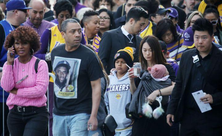 Kobe Bryant & Gianna Bryant Memorial