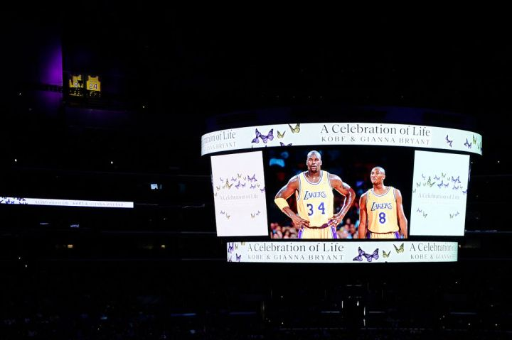 The Celebration of Life for Kobe & Gianna Bryant