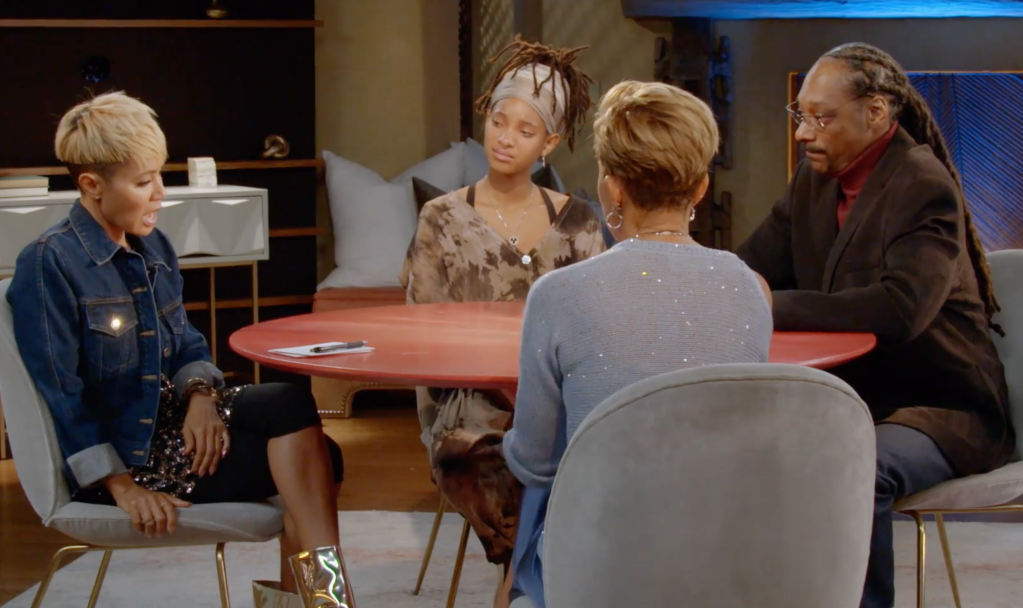 Red Table Talk with Snoop Dogg