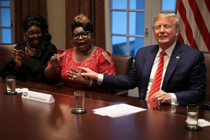 President Trump Meets With African American Leaders In The Cabinet Room