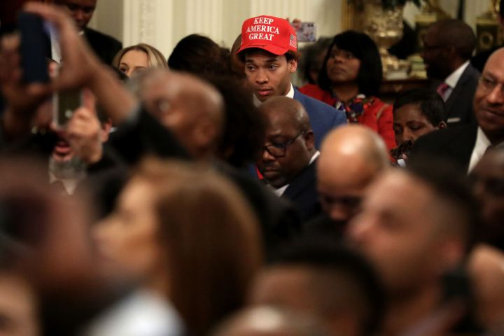 President Trump Speaks At African American History Month Reception